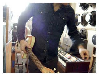Jason Hill at Black Market guitar in Los Angelos
