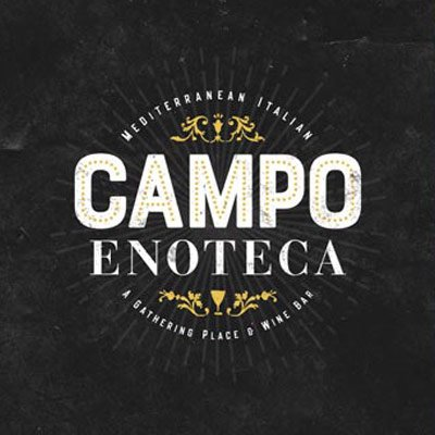 Logo design for Campo Enoteca. A Restaurant located in Manchester, New Hampshire