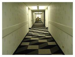 carpeting at the Hyatt in Hollywod