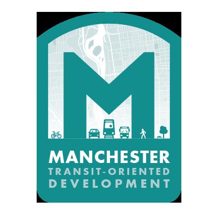 Manchester Transit-Oriented Development Logo Design