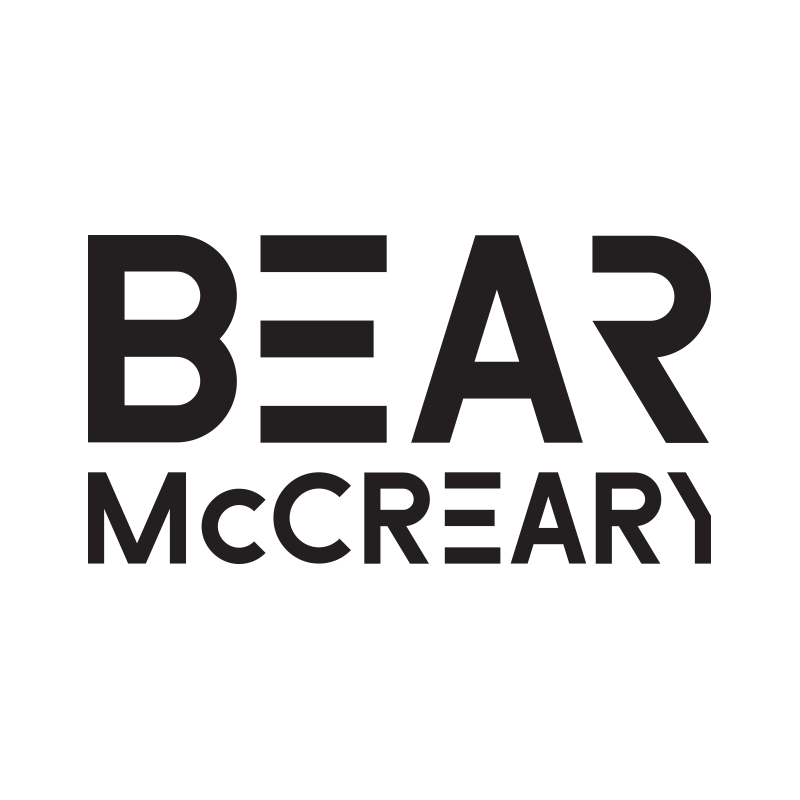 Logo design for Composer Bear McCreary